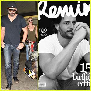 Joe Manganiello Covers 'Remix' Magazine