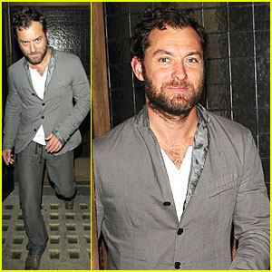 Jude Law: Little House Restaurant Stop!