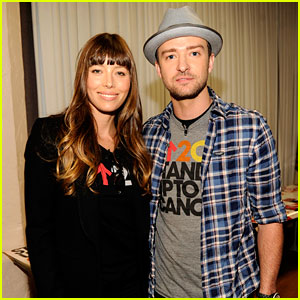Justin Timberlake & Jessica Biel: Stand Up To Cancer Couple!