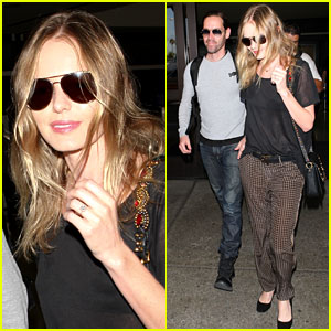 Kate Bosworth & Michael Polish: Farewell, Fashion Week!