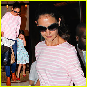 Katie Holmes &#038; Suri: Tribeca Twosome!