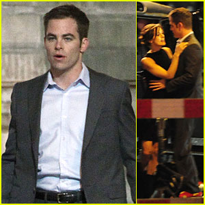 Keira Knightley & Chris Pine: 'Jack Ryan' Set!