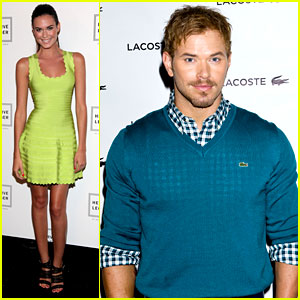 Kellan Lutz & Odette Annable: Fashion Week Shows!
