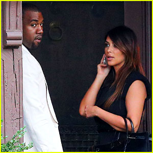 Kim Kardashian & Kanye West: Labor Day in Westchester!