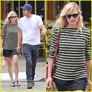 Kirsten Dunst & Garrett Hedlund: Labor Day in New York!