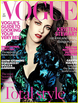 Kristen Stewart Covers 'British Vogue' October 2012