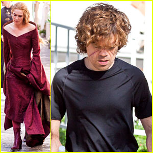 Lena Headey & Peter Dinklage: 'Game of Thrones' Set!