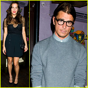 Liv Tyler & Josh Hartnett: 'Vs. Magazine' Dinner Party!