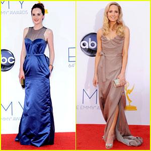Michelle Dockery & Joanne Froggatt - Emmys 2012