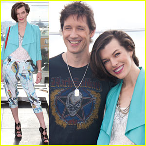 Milla Jovovich: 'Resident Evil: Retribution' Moscow Photo Call!