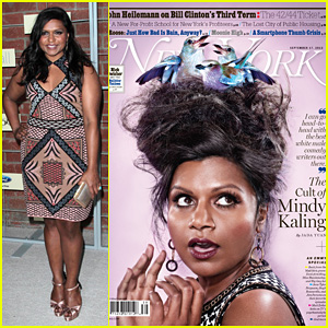 Mindy Kaling Covers New York Magazine!