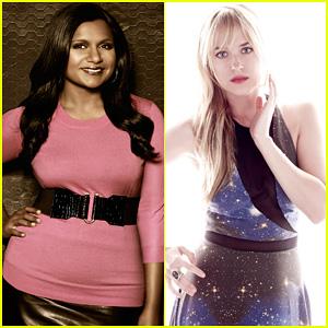 Mindy Kaling & Dakota Johnson: Faces of Fox Campaign!