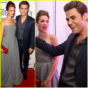 Paul Wesley & Torrey DeVitto: H-Couture Fur-Free Fashion Show!