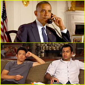 President Obama Calls on Harold &#038; Kumar for DNC Promo!
