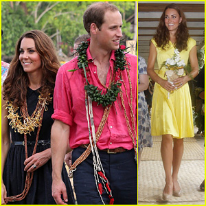 Prince William & Duchess Kate: Tavanipupu Island Visit!