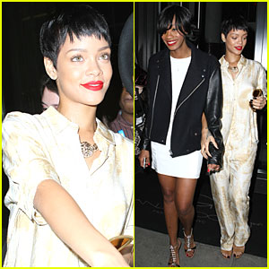 Rihanna: 40/40 Club Opening!