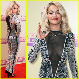 Rita Ora - MTV VMAs 2012 Red Carpet