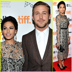 Ryan Gosling & Eva Mendes: 'Place Beyond the Pines' Premiere at TIFF!
