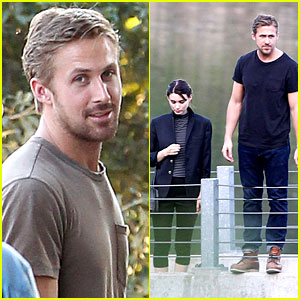 Ryan Gosling & Rooney Mara: 'Untitled Terrence Malick Project' Set!