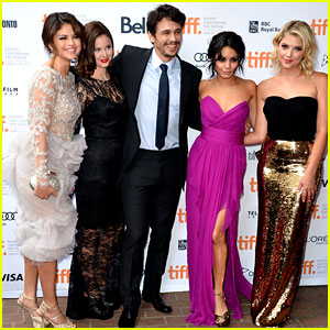 Vanessa Hudgens, Selena Gomez, & Ashley Benson: 'Spring Breakers' Premiere at TIFF!