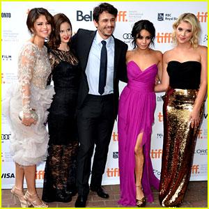 Vanessa Hudgens, Selena Gomez, & Ashley Benson: 'Spring Breakers' Premiere at TIFF!