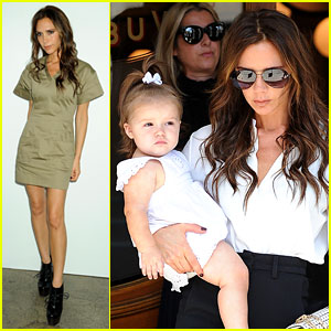 Victoria Beckham: Fashion Week Fun with Harper!