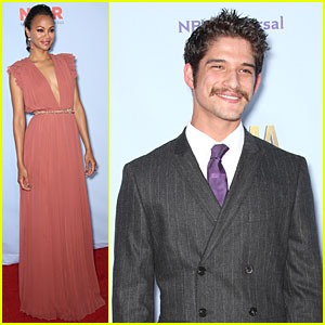 Zoe Saldana &#038; Tyler Posey: ALMA Awards!