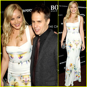 Abbie Cornish & Sam Rockwell: 'Seven Psychopaths' in NYC!