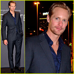 Alexander Skarsgard: Encounter Fragrance Launch in Berlin!