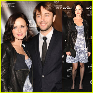 Alexis Bledel & Vincent Kartheiser: Red Carpet