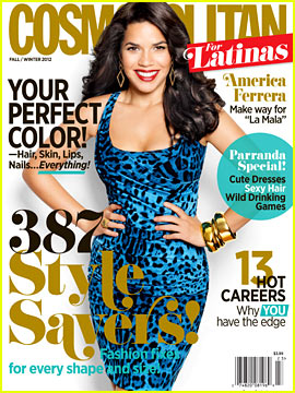 America Ferrera Covers 'Cosmopolitan for Latinas' Fall/Winter 2012