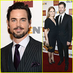 Amy Adams & Matt Bomer: GLSEN Respect Awards!