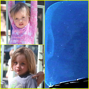 Angelina Jolie: Park Playtime with Knox & Vivienne!
