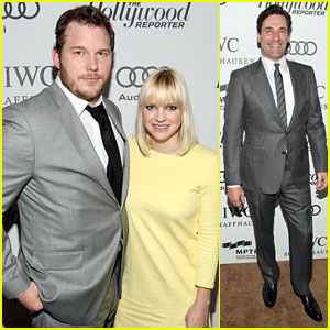 Anna Faris & Chris Pratt: First Post-Baby Red Carpet Event!