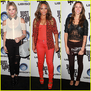 Ashley Benson & Christina Milian: 'Just Dance 4' Launch Party!