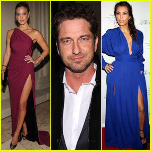Bar Refaeli & Gerard Butler: Angel Ball 2012!