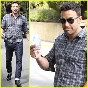 Ben Affleck Hits Parked Car, Leaves Apology Note
