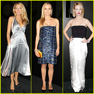 Blake Lively & Diane Kruger: Chanel Celebration!