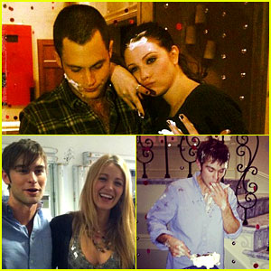 Blake Lively & Penn Badgley: 'Gossip Girl' Wrap Party!