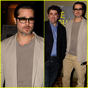 Brad Pitt: 'The House I Live In' Los Angeles Screening!