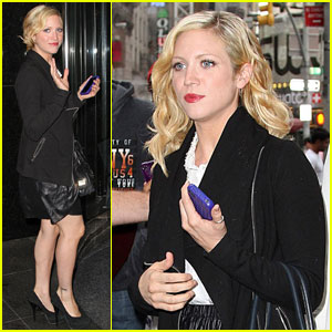 Brittany Snow: Pitch Slapped in New York City