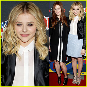 Chloe Moretz: 'Carrie' Comic-Con with Julianne Moore!