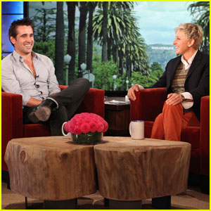 Colin Farrell: I Love Sweating!