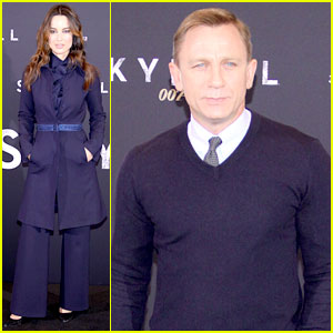 Daniel Craig & Berenice Marlohe: 'Skyfall' Berlin Photo Call