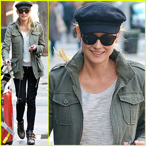 Diane Kruger: Big Apple Check-Out
