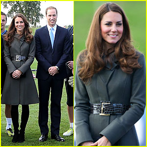 Duchess Kate & Prince William: Football Centre Opening