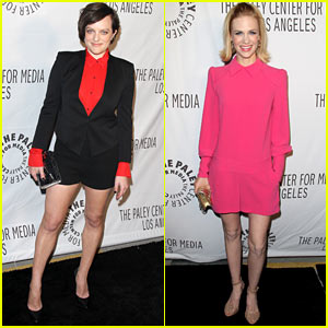 Elisabeth Moss & January Jones: Paley Center AMC Benefit!