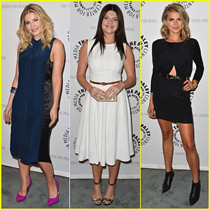 Elisha Cuthbert: PaleyFest with 'Happy Endings' Cast!