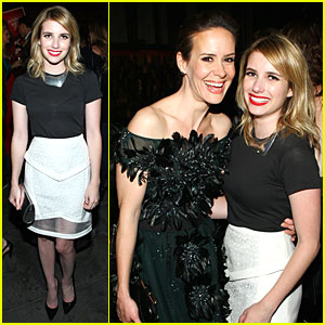 Emma Roberts: 'American Horror Story' After Party!
