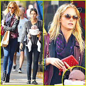 Erin Heatherton: Lily Aldridge's Daughter Dixie is My Godchild!